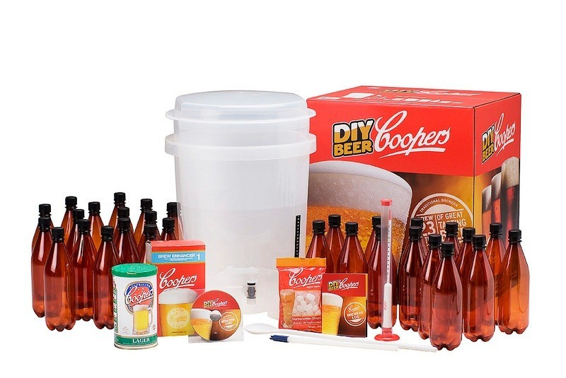 coopers diy home brew kit
