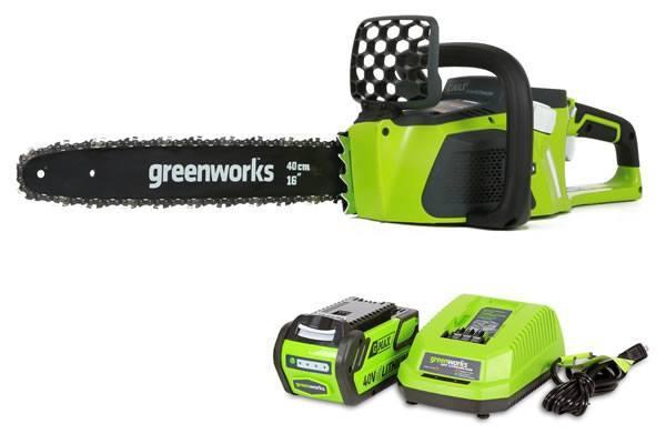 GreenWorks 20312 40V 16-Inch Cordless Chainsaw