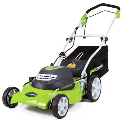 GreenWorks 25022 Corded 20-Inch Lawn Mower